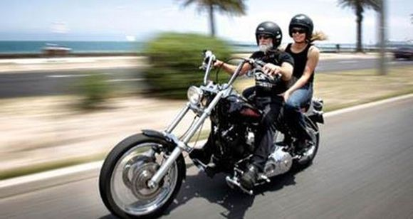 Picture of Harley Joy Ride Around Melbourne