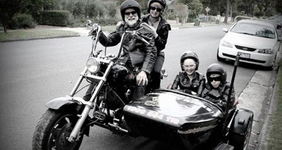 Picture of Harley Joy Ride Around Melbourne (with Double Sidecar)