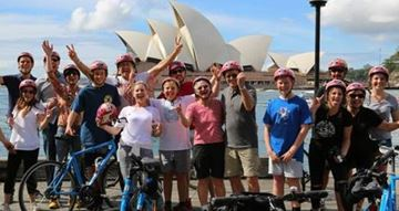 Picture of Corporate Group Bike Tour for 20 People - Sydney