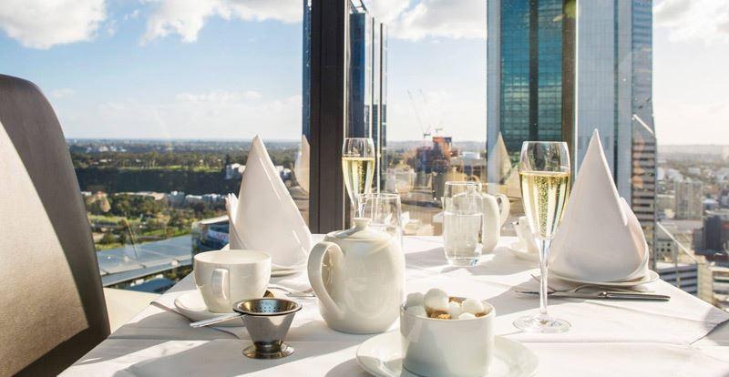 Champagne High Tea at C Restaurant - Perth
