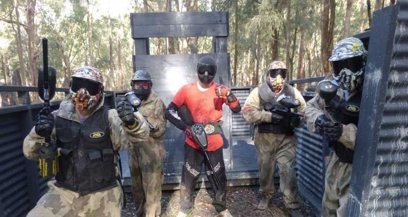 Full Day Paintball in Perth