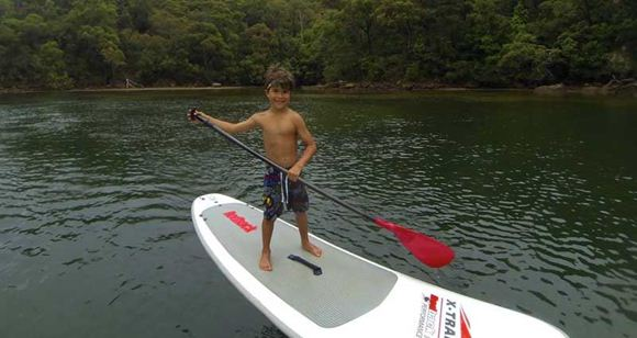 Picture of Sydney Stand Up Paddle Boarding Safari - Child