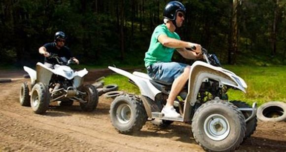 Picture of Quad Biking and Abseiling Adventure - Glenworth Valley