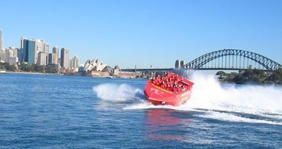 Picture of Jet Boat Ride Sydney Harbour