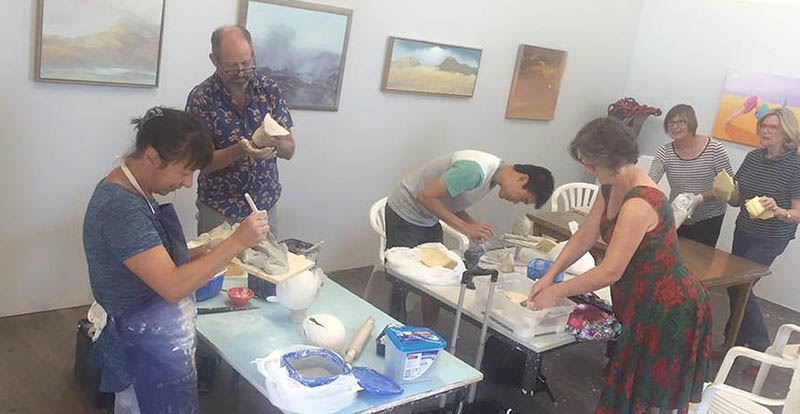 7 Pottery and Sculpture Classes - Perth