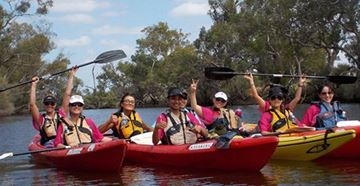 Picture of Wine Cruise by Canoe for 10 - Perth