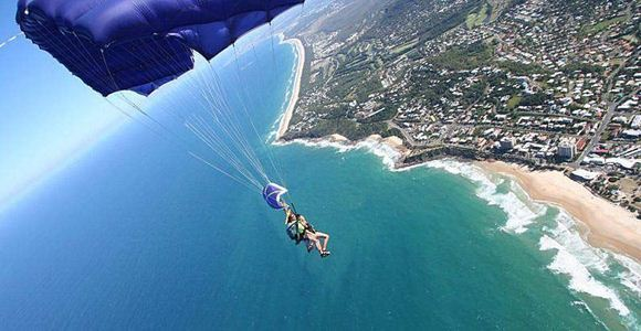 Picture of 14,000ft SUNRISE - Tandem Skydive over Coolum Beach