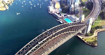 Picture of Helicopter Flight over Sydney