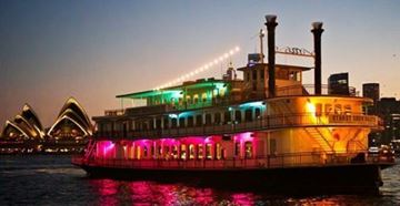 Picture of Showboat Dinner Cruise for 2 - Sydney Harbour