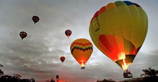 Avon Valley Champagne Balloon Flight - Weekend