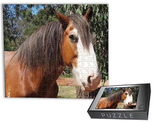 "Picture of Personalised Jigsaw Puzzle - 500 piece (17""x19"")"