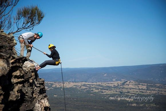 Picture of Half Day Abseiling Blue Mountains