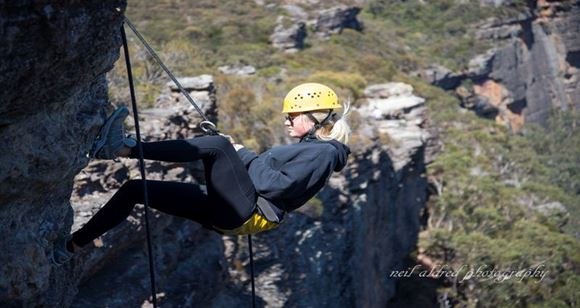 Picture of Half Day Abseiling - Blue Mountains - Kids 8-17