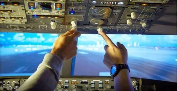 Picture of Jet Flight Simulator Challenge Canberra - 60 minutes
