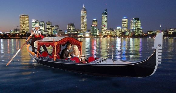 Picture of Gondola Romantic  Swan River Experience