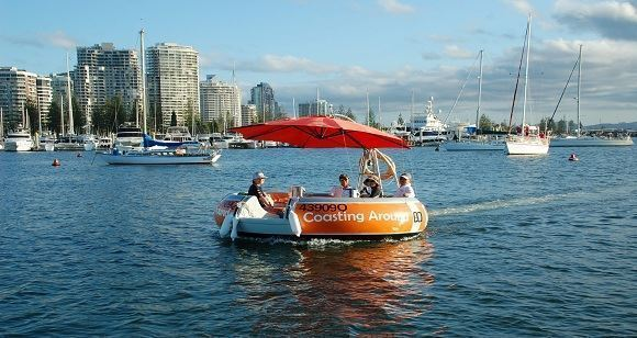 Picture of Round Boat Hire up to 10 people - Gold Coast