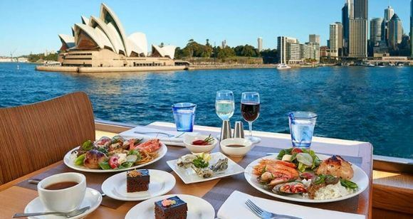 Picture of Sydney Harbour  3-Course Top Deck Lunch - Adult