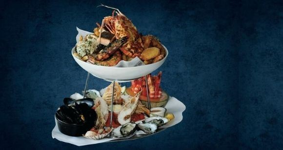 Picture of Darling Harbour Seafood Platter at Blue Fish