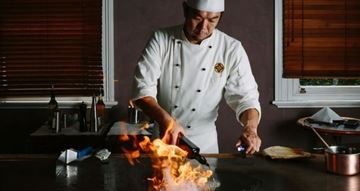 Picture of 10 Course Surf & Turf Menu for Two at The Rocks Teppanyaki