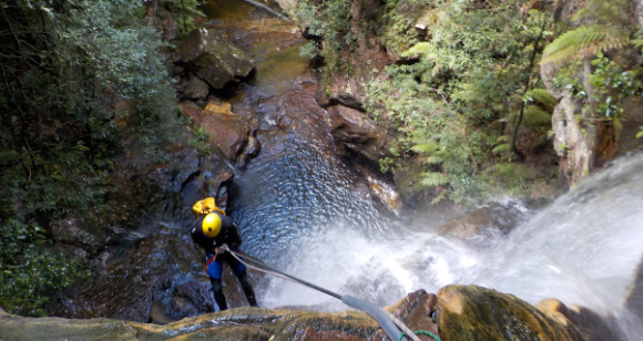 Picture of Empress Canyon Abseiling and Canyoning Blue Mountains